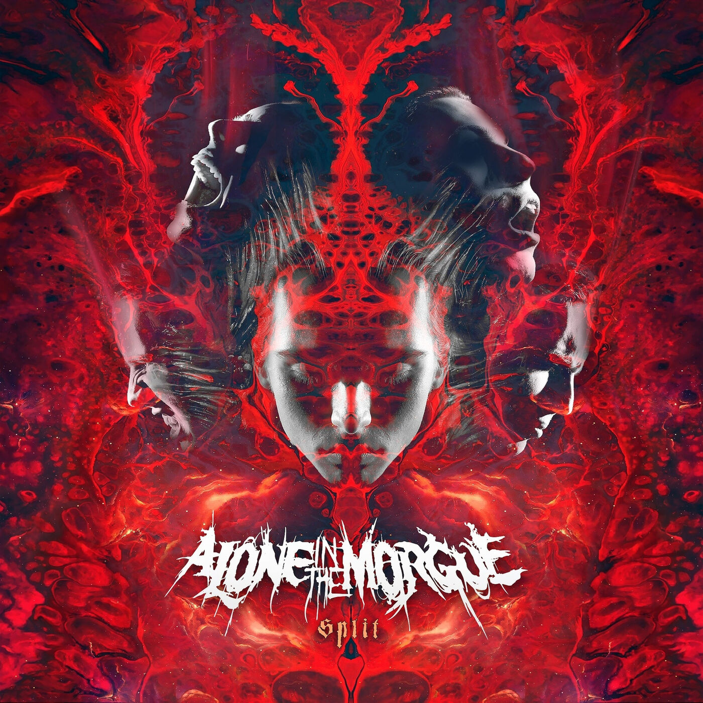 Alone In The Morgue - Split [EP] (2020)
