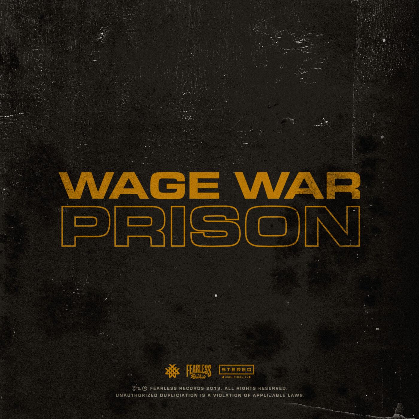 Wage War - Prison [single] (2019)