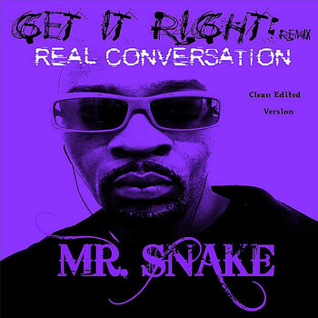 Get It Right (Remix) / Real Conversation  [Edited] cover