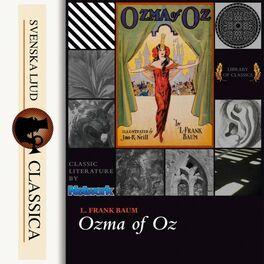 Album cover of Ozma of Oz (Unabridged)
