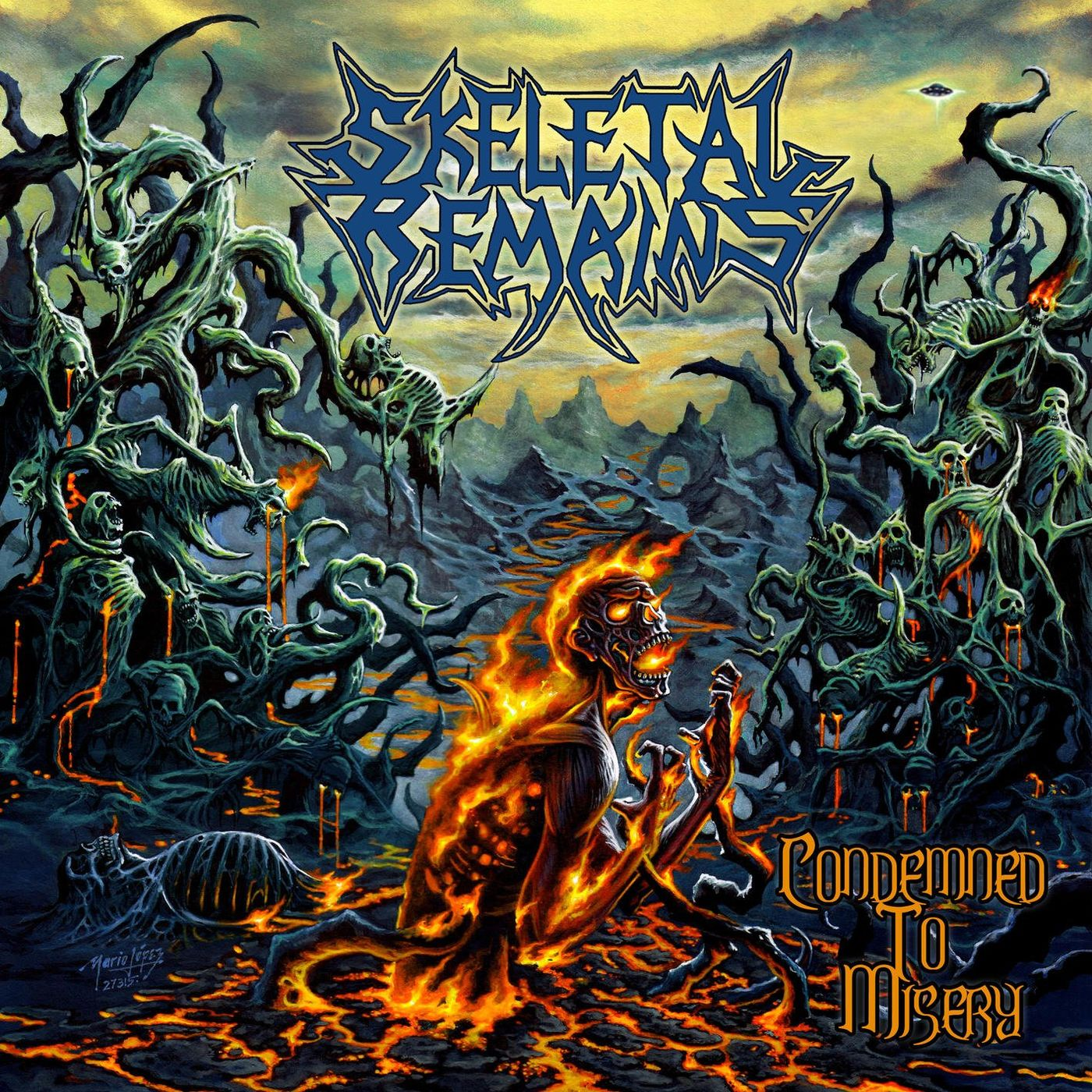Skeletal Remains - Condemned To Misery [Remastered] (2020)