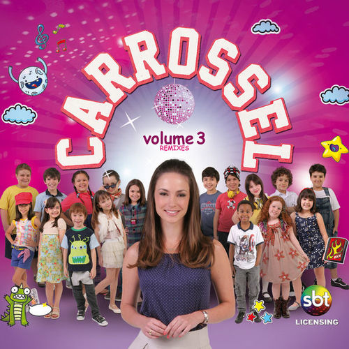 cd carrossel volume 3 remix