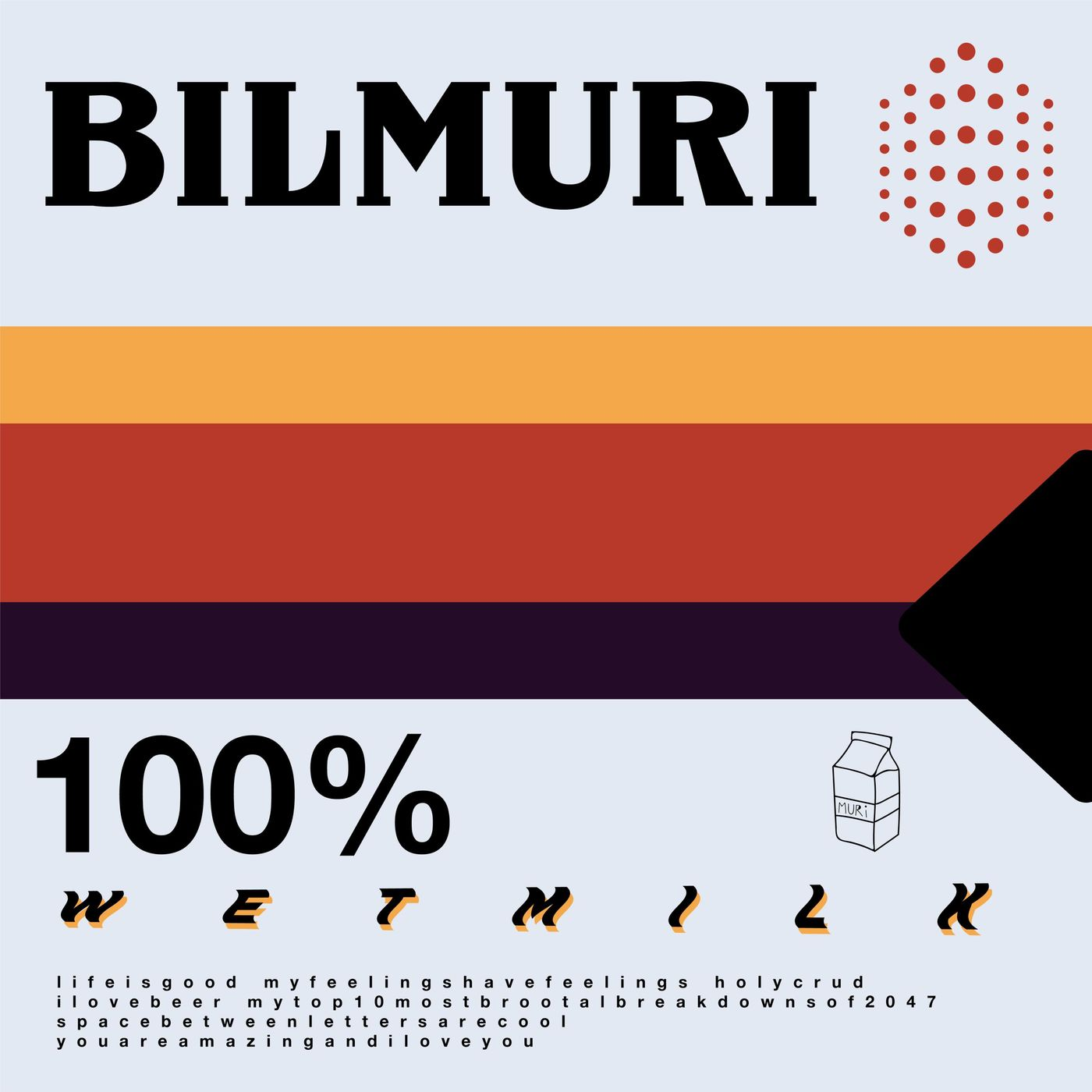 Bilmuri - wet milk [EP] (2019)