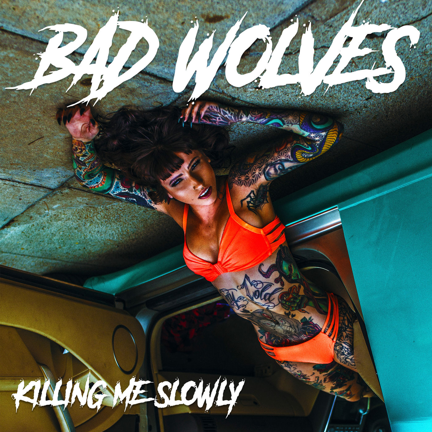 Bad Wolves - Killing Me Slowly [Single] (2019)