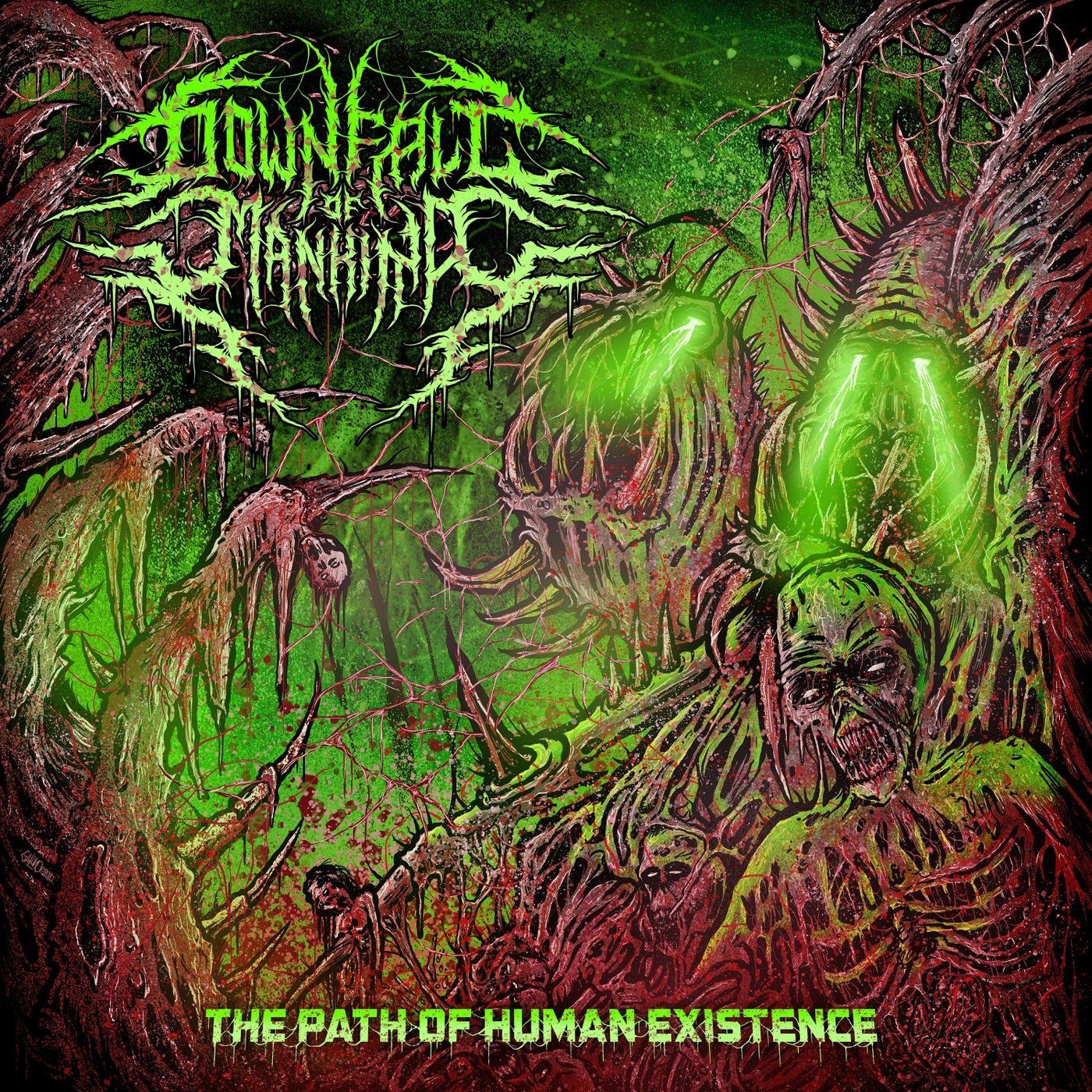 Downfall of Mankind - The Path of Human Existence [EP] (2020)