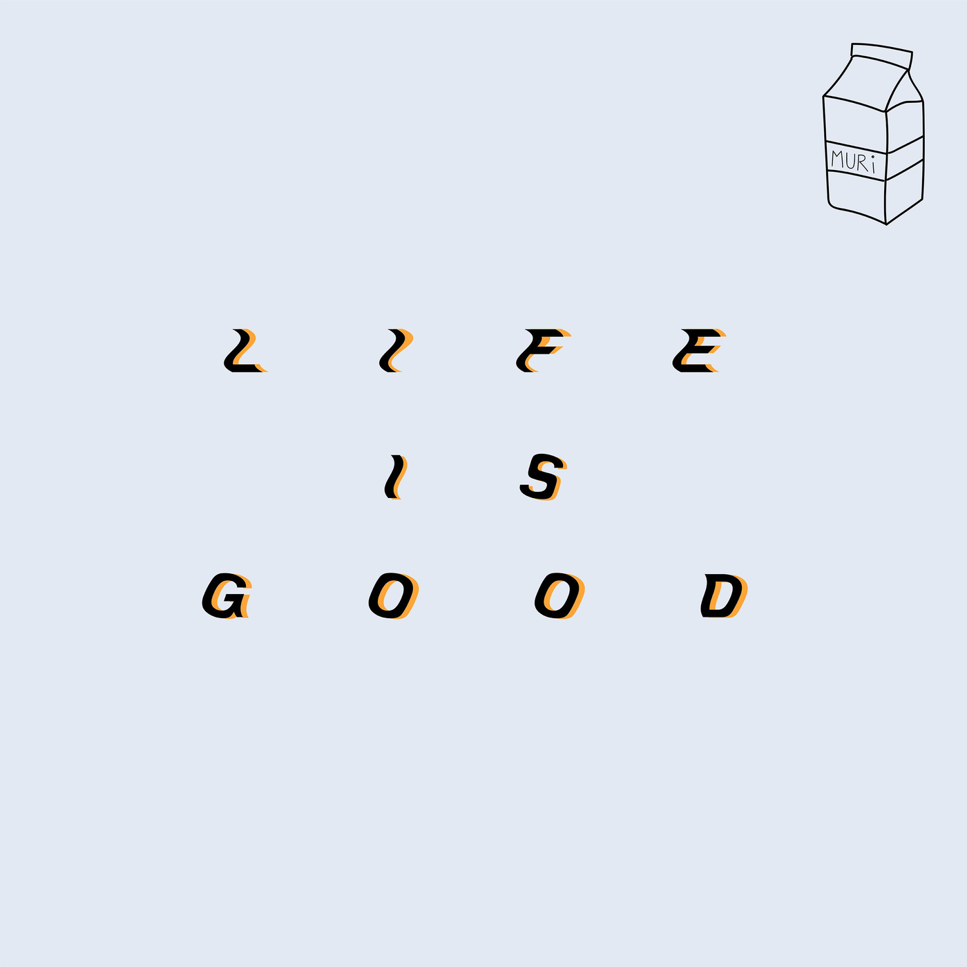 Bilmuri - lifeisgood [single] (2019)