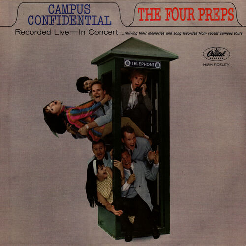 The Four Preps: Campus Confidential - Music Streaming