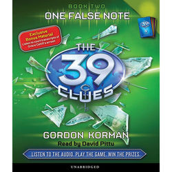One False Note - The 39 Clues, Book 2 (Unabridged) Audiobook