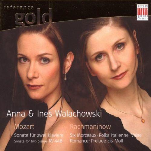 Anna Walachowski: Mozart & Rachmaninow: Works for two Pianos, Piano