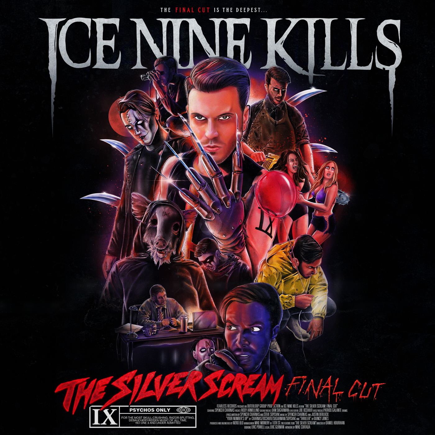 Ice Nine Kills - The Silver Scream (Final Cut) (2019)
