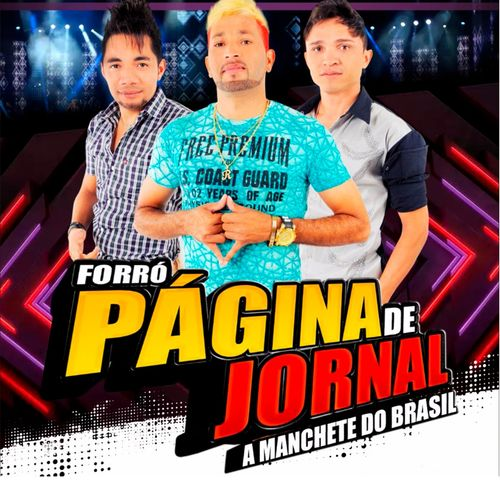 Forró Página de Jornal – É Amor 2017 CD Completo