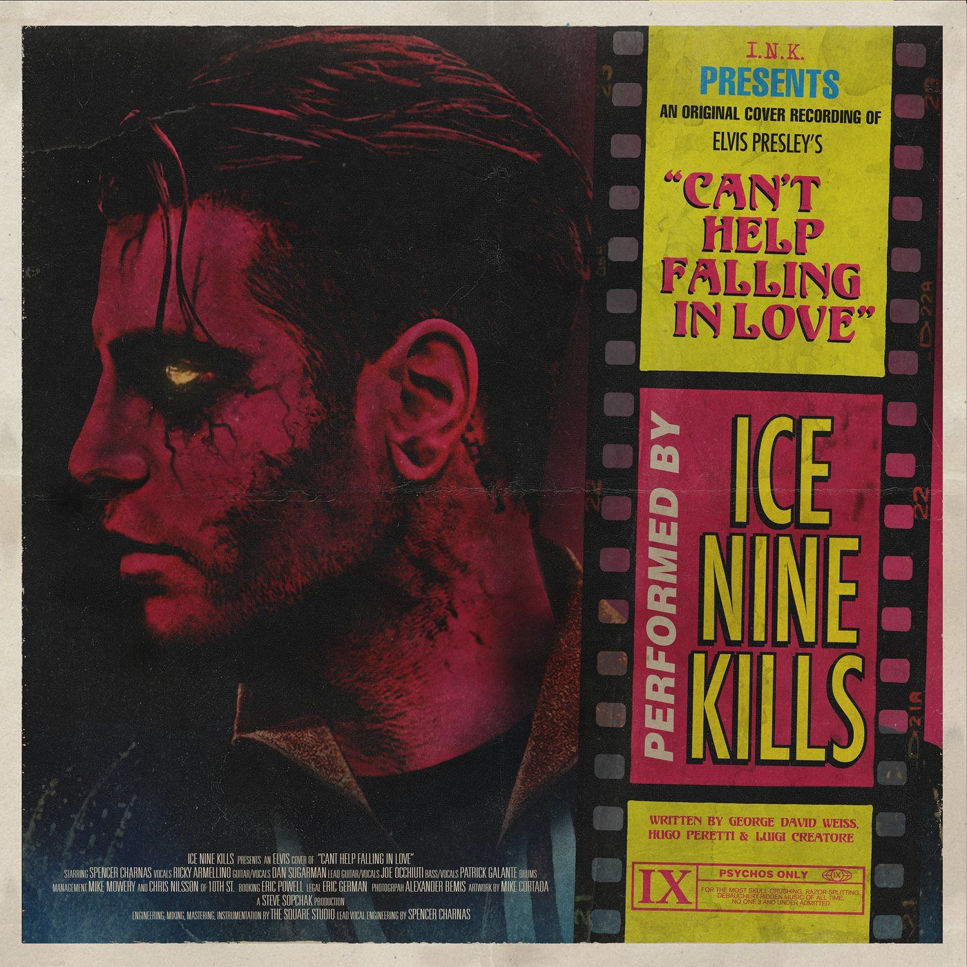 Ice Nine Kills - Can't Help Falling In Love [single] (2021)