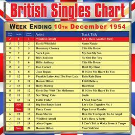 Album cover of British Singles Chart - Week Ending 10 December 1954