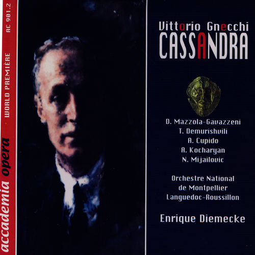 Denia Mazzola-Gavazzeni: Vittorio Gnecchi - Cassandra - Music Streaming -  Listen on Deezer