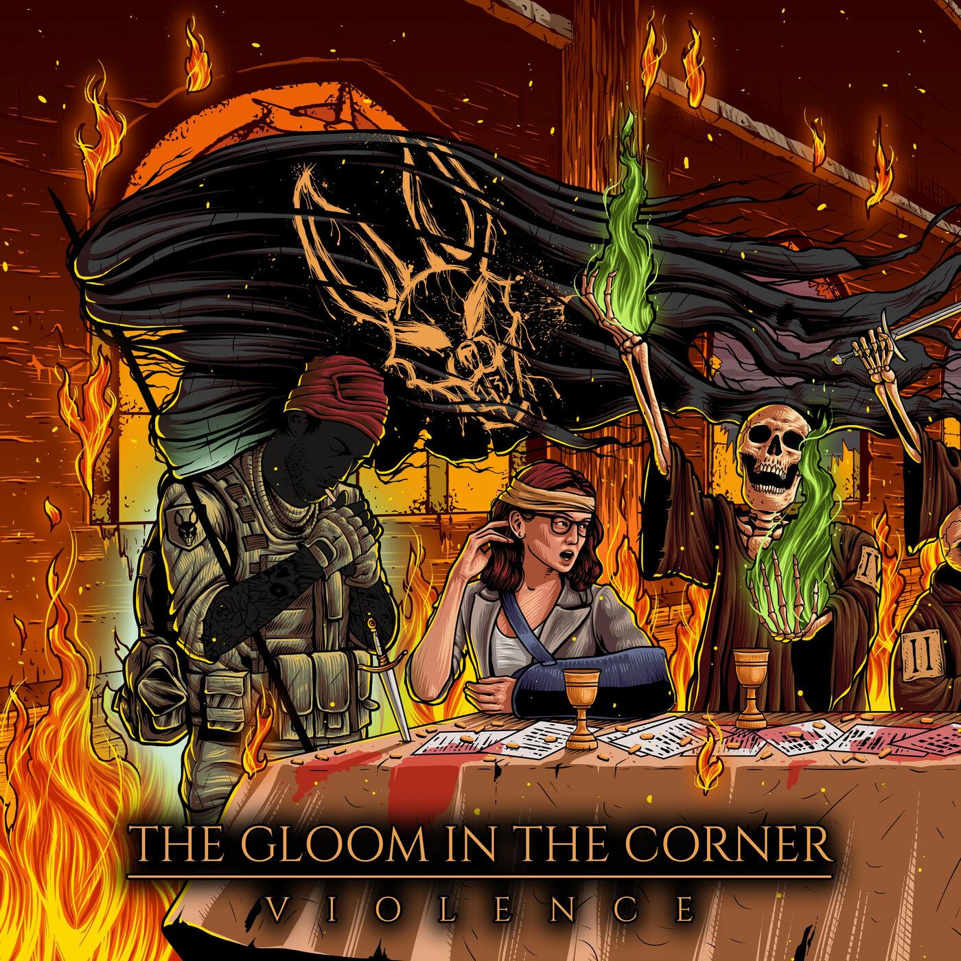 The Gloom In The Corner - Violence [single] (2020)