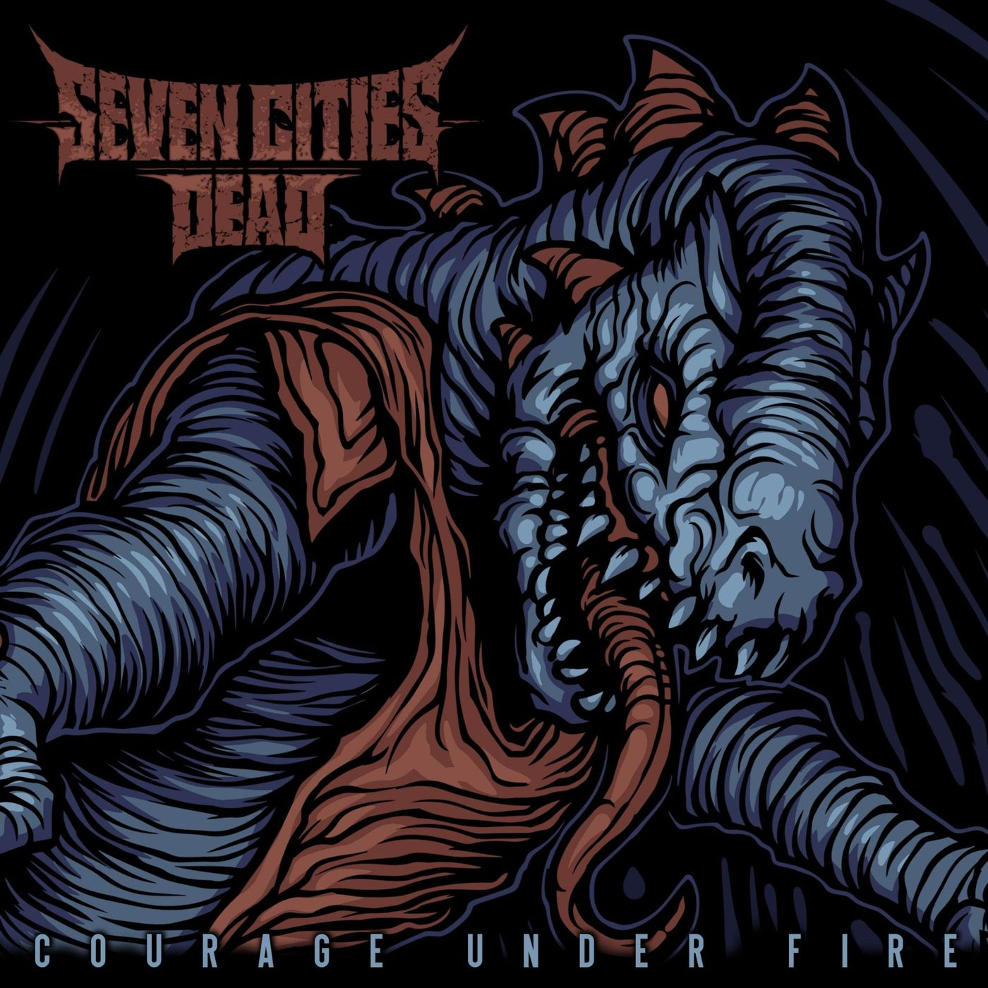 Seven Cities Dead - Courage Under Fire [single] (2020)