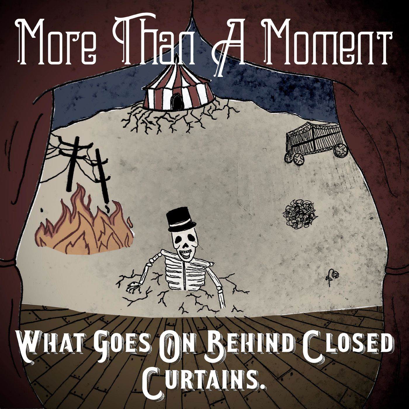 More Than A Moment - What Goes on Behind Closed Curtains. [EP] (2018)