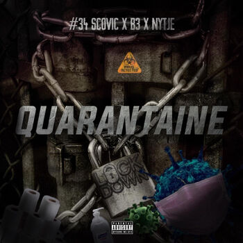 Quarantaine (feat. Scovic, B3 & Nytje) cover