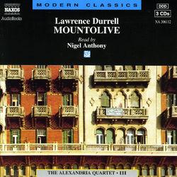 Lawrence Durrell : Mountolive (Abridged)