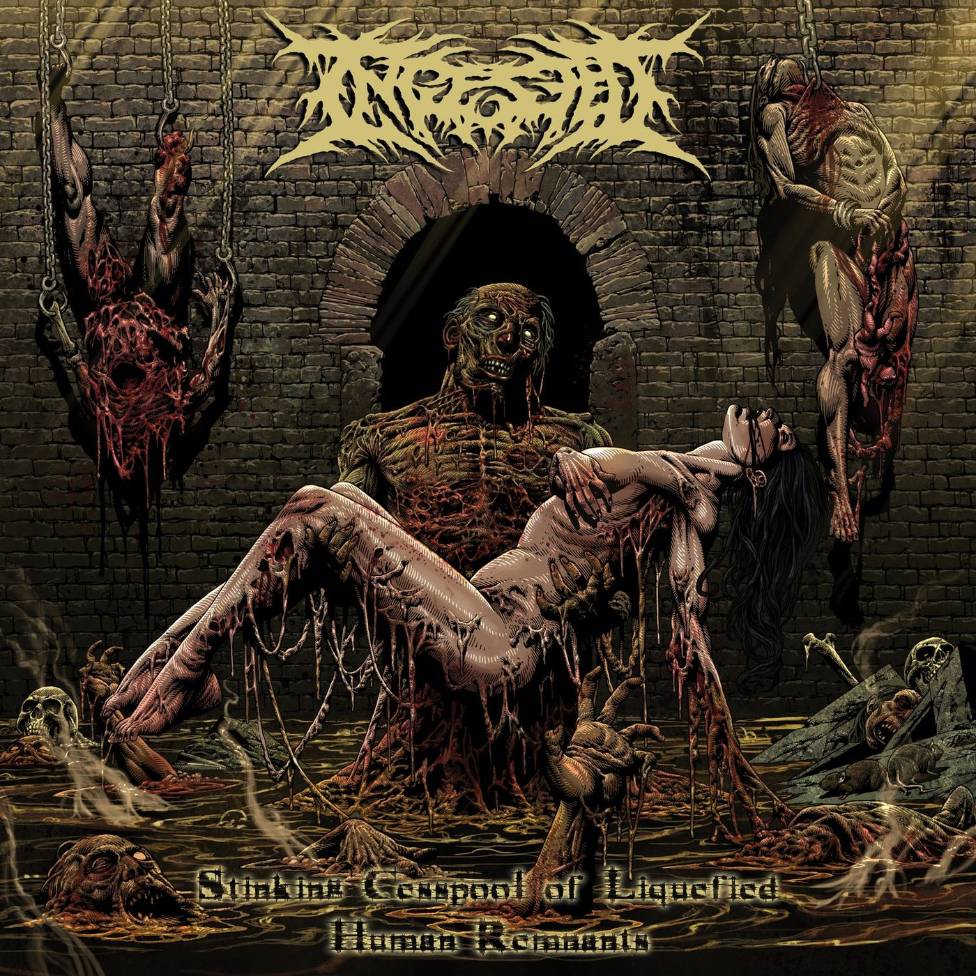 Ingested - Stinking Cesspool of Liquified Human Remnants [EP] (2020 Remaster)