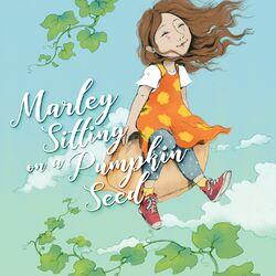 Marley Sitting on a Pumpkin Seed