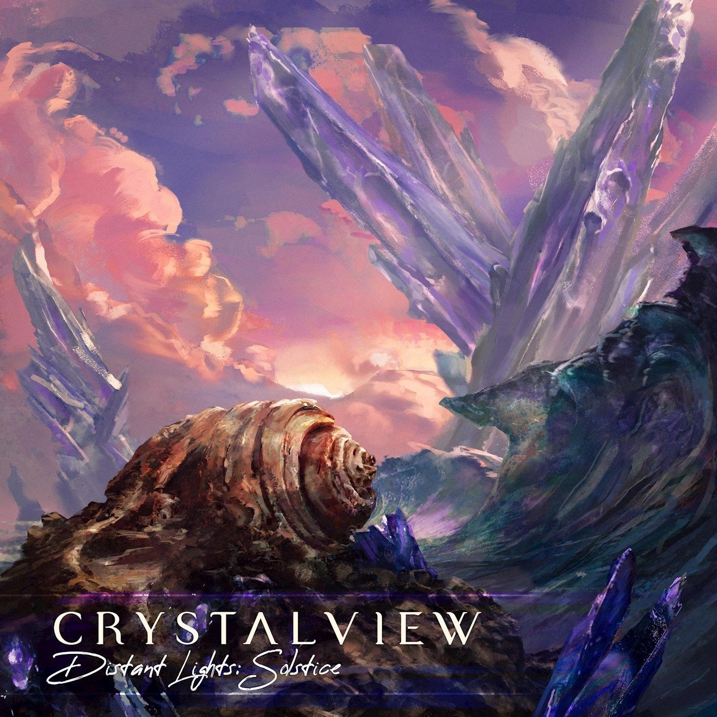 Crystalview - Distant Lights: Solstice [EP] (2020)