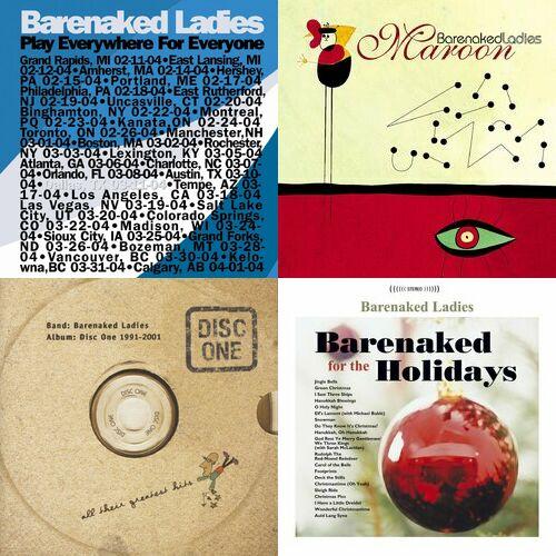 Playlist Barenaked Ladies Couter Sur Deezer Musique En Streaming
