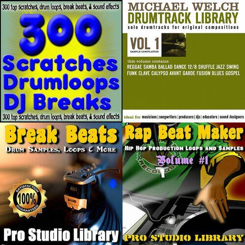 Lista pesama 300 scratches drum loops beats ringtones and dj