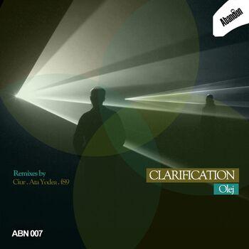 Clarification (Original Mix) cover