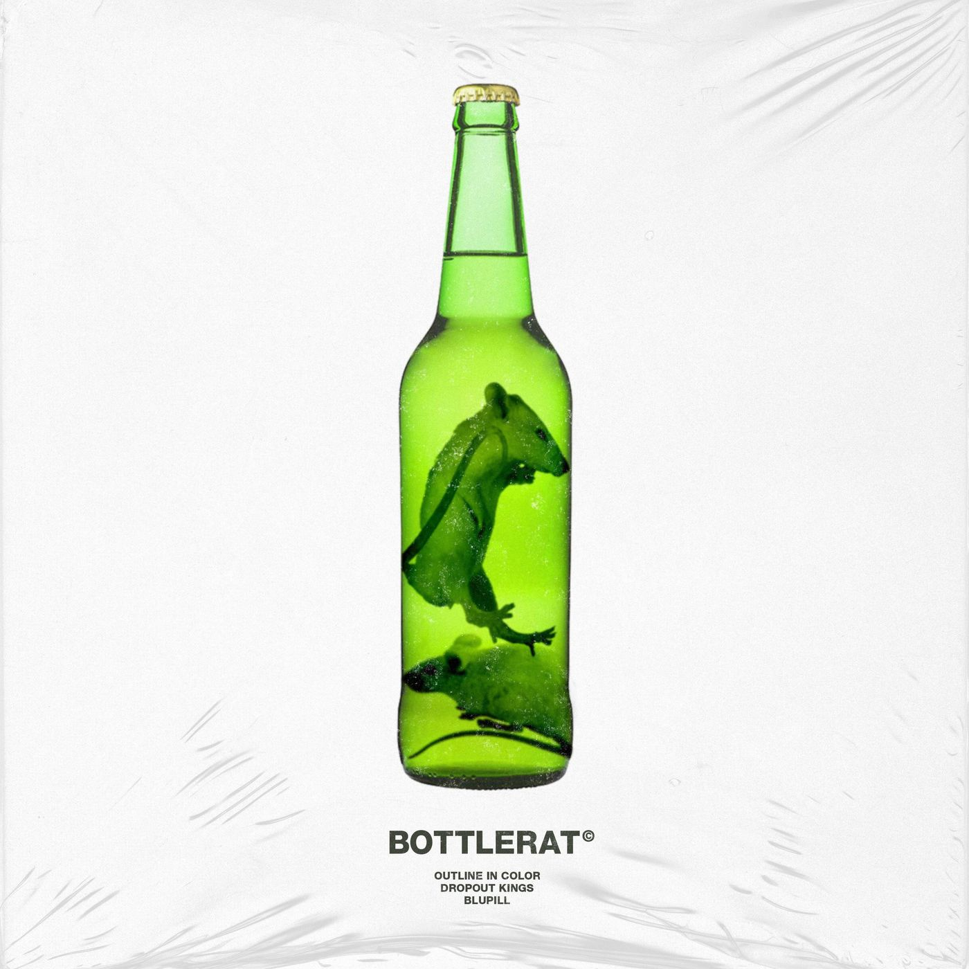 Outline In Color x Dropout Kings x Blupill- BottleRat [single] (2020)