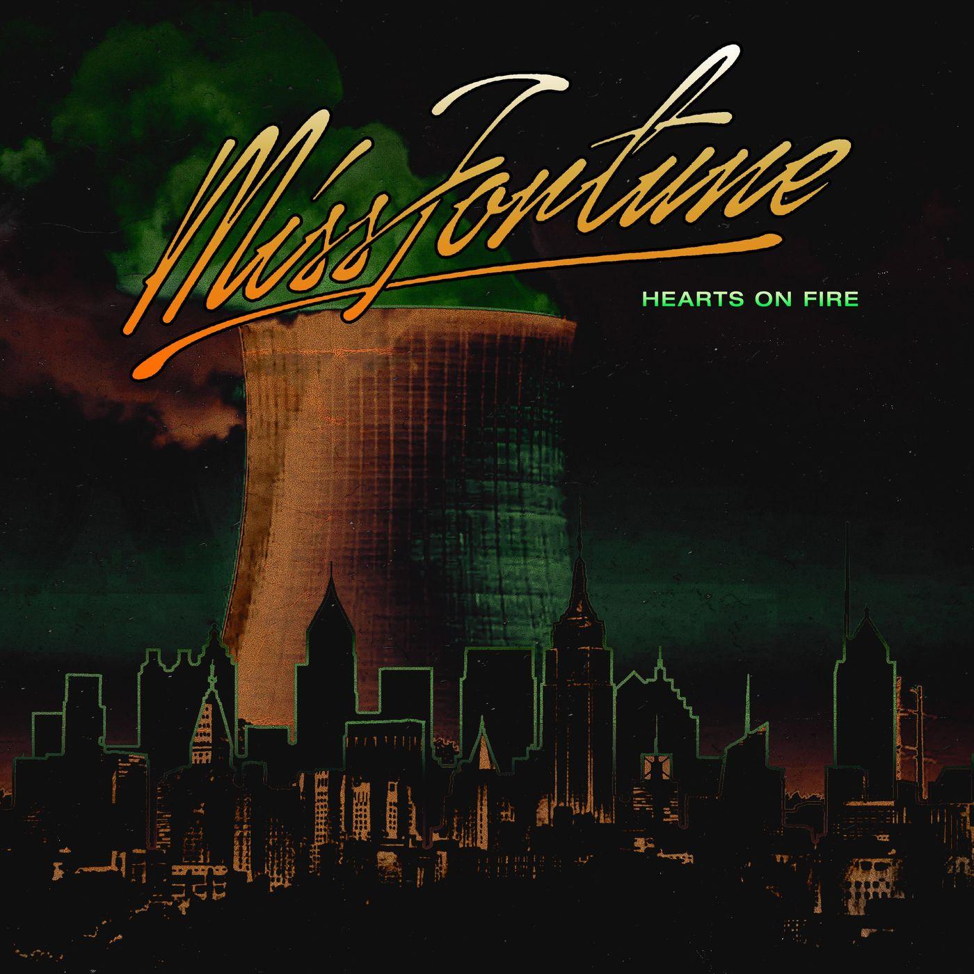 Miss Fortune - Hearts on Fire [single] (2019)