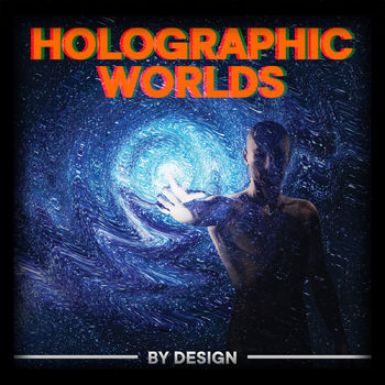 Holographic Worlds cover