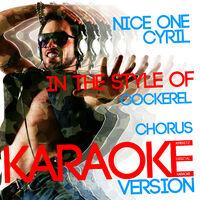 Ameritz Digital Karaoke: Nice One Cyril (In the Style of
