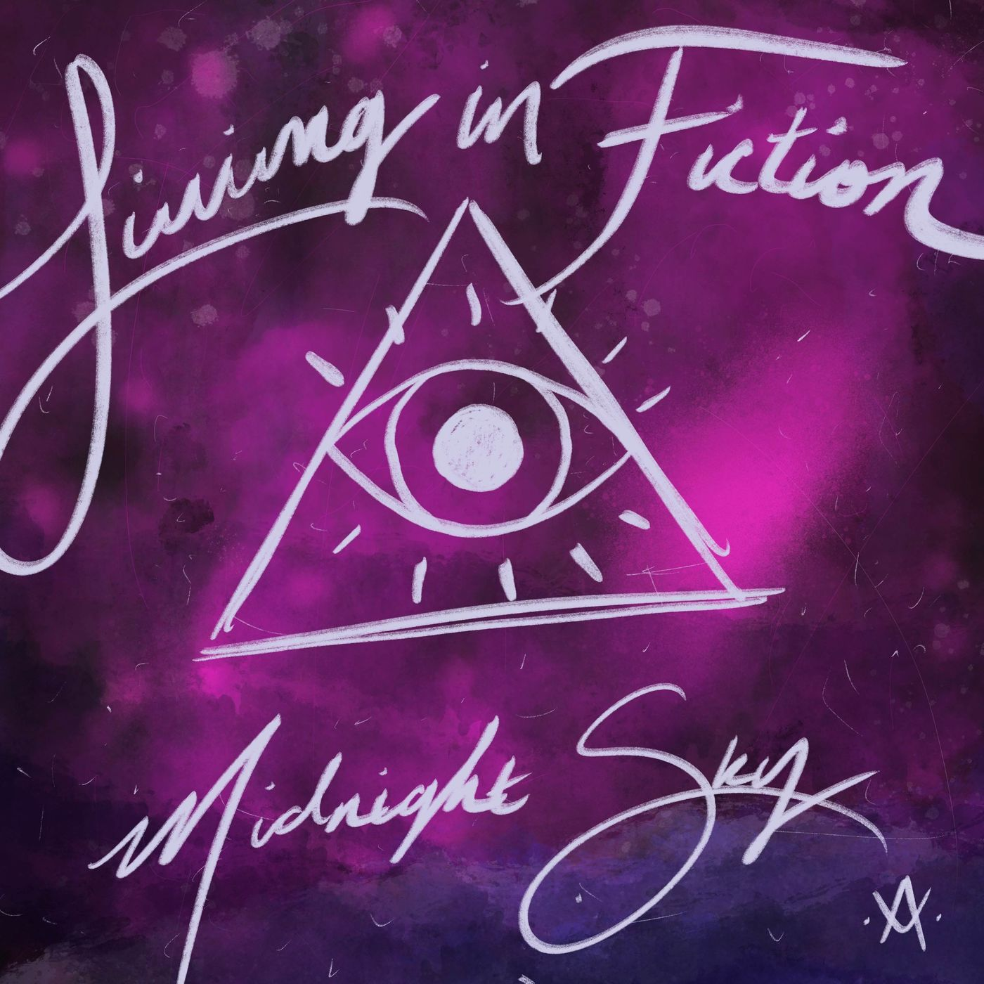Living in Fiction - Midnight Sky [single] (2021)