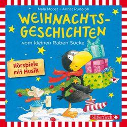Weihnachtsgeschichten vom kleinen Raben Socke: Alles Advent!, Alles glitzert!, Alles in Eile! und Alles weg!