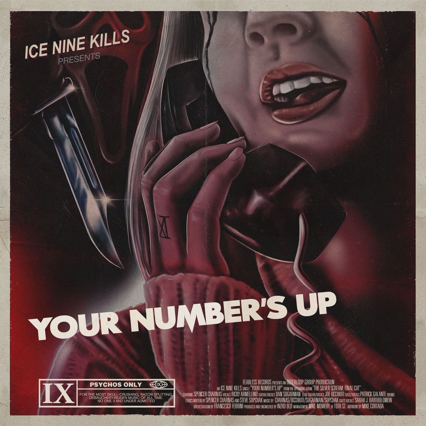 Ice Nine Kills - Your Number's Up [single] (2019)
