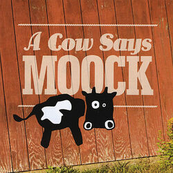A Cow Says Moo