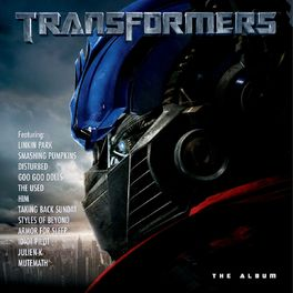 Album cover of Transformers - The Album (PDF)