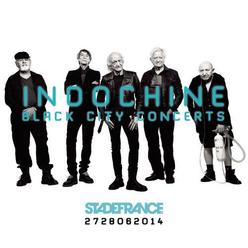 Indochine  2015 - Black City concerts