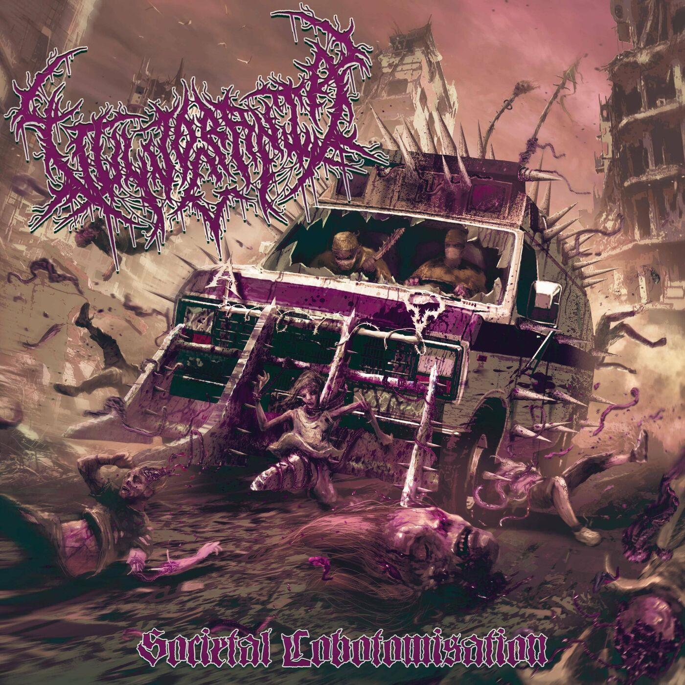 Vulvocrania - Societal Lobotomisation [split EP] (2021)