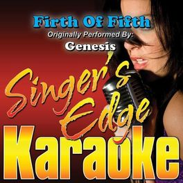 Singer's Edge Karaoke: Firth of Fifth (Live Version) [Originally