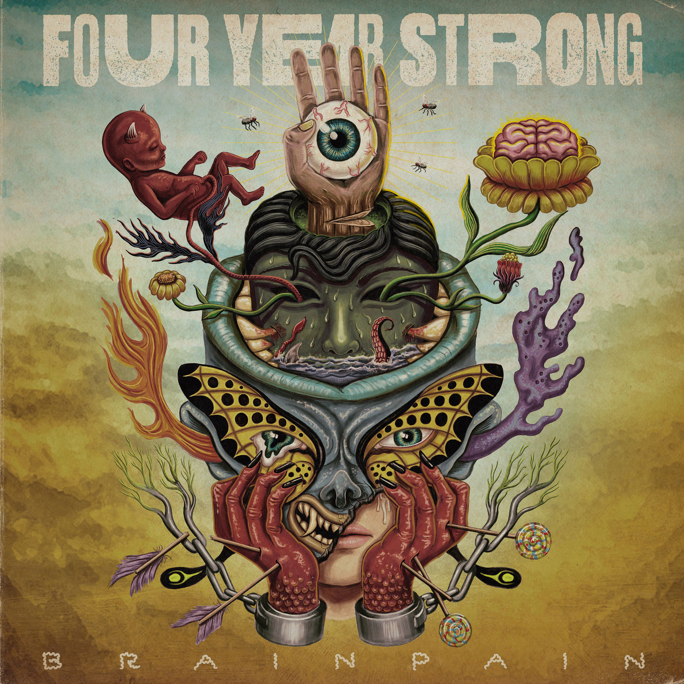 Four Year Strong - Talking Myself in Circles / Brain Pain [single] (2020)