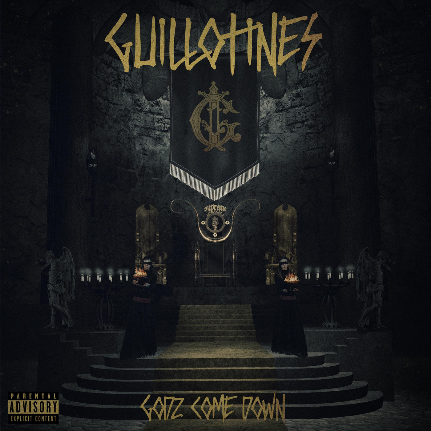 Guillotines - Godz Come Down [single] (2020)