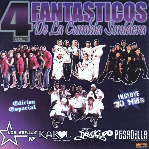 Various Artists: V4 Fantasticos De La Cumbia Sonidera, Vol