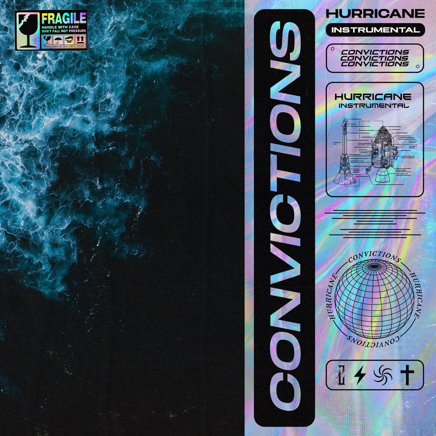 Convictions - Hurricane (Instrumental) [single] (2020)