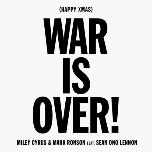 Baixar Single Happy Xmas (War Is Over) – Miley Cyrus, Mark Ronson, Sean Ono Lennon (2018) Grátis