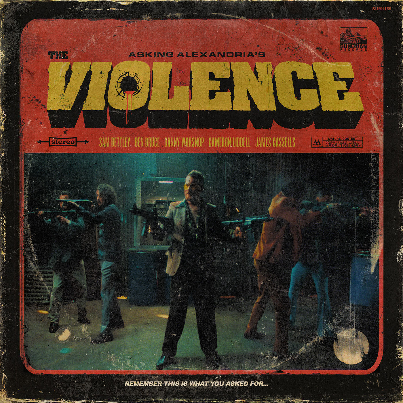 Asking Alexandria - The Violence [single] (2019)