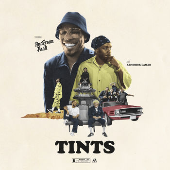 Tints (feat. Kendrick Lamar) cover