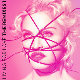 Album cover of Living For Love (The Remixes 1)