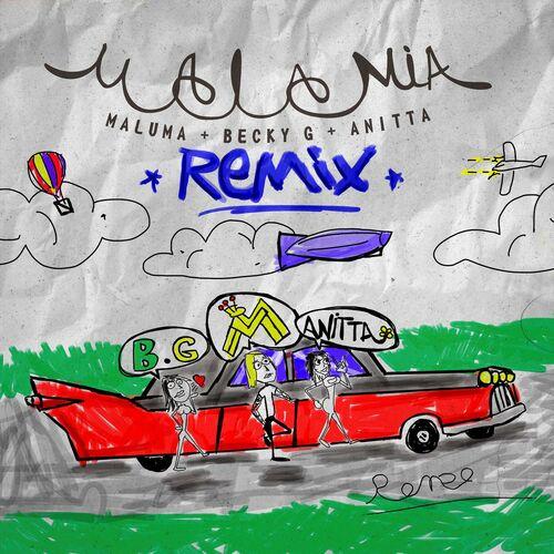 Baixar Single Mala Mía (Remix), Baixar CD Mala Mía (Remix), Baixar Mala Mía (Remix), Baixar Música Mala Mía (Remix) - Maluma, Becky G, Anitta 2018, Baixar Música Maluma, Becky G, Anitta - Mala Mía (Remix) 2018